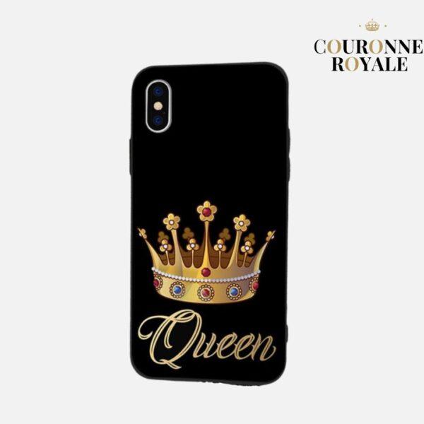 Coque Couple couronne - À chaque Roi sa Reine