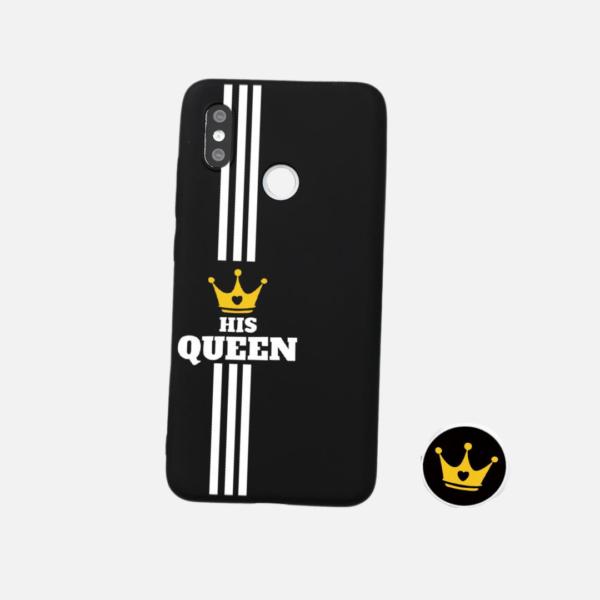 Coque pour Couple His Queen/King