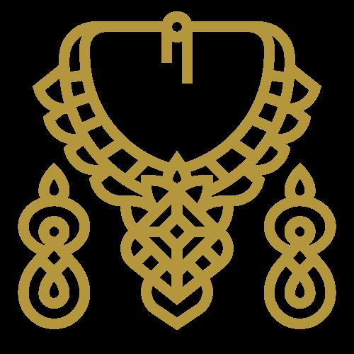 Parures de Bijoux Couronne